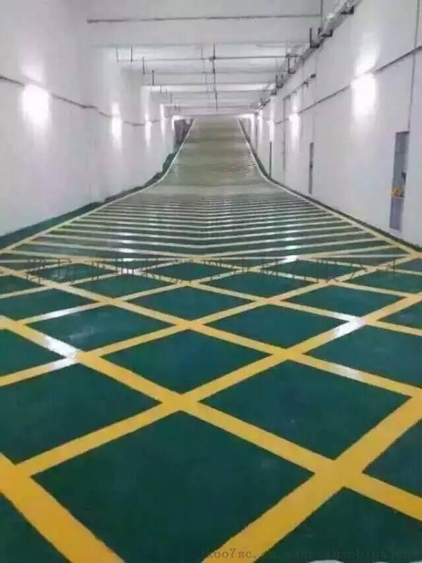 潍坊  车库坡道环氧地坪 环氧止滑车道平涂地坪 耐磨地坪