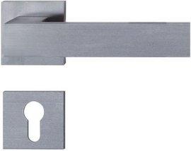 不锈钢精铸实心门拉手(LH144)