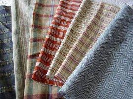 苎麻色织布