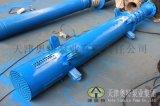 10級葉輪400QJ深井潛水泵廠商 鑄鐵多級潛水泵系列 100m揚程深井泵規格