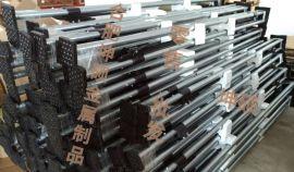 供应 集装箱车厢撑杆 货车挡货杆配件 货物伸缩支撑架 镀锌可伸缩撑杆挡货杆隔物杆 货物固定架