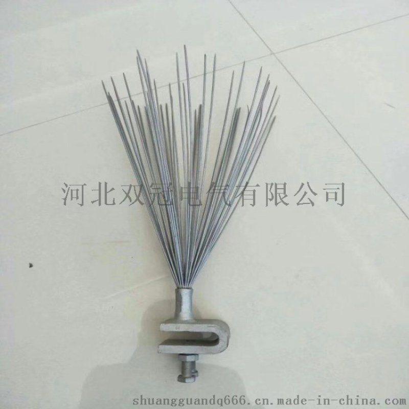 电力线路防鸟刺喷涂弹簧式防鸟刺技术参数