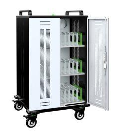 供应笔记本电脑充电柜 移动充电车 电子书包柜 移动推车NB36