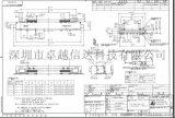 原厂/ 0.5MM间距 /51P LVDS连接器 /FIX
