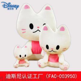 韓國正版IP毛絨玩具FACEcat臉貓授權玩具定制