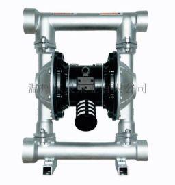 实力厂家气动隔膜泵 不锈钢 铝合金 铸铁 全氟