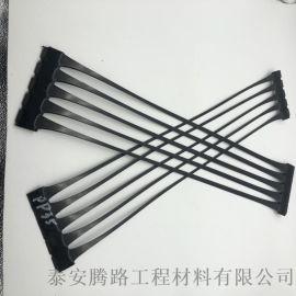 pe材质单向拉伸塑料土工格栅 路基增强单向土工格栅