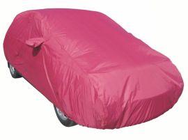 涤塔夫190T玫红色防水防晒双面汽车车衣汽车罩