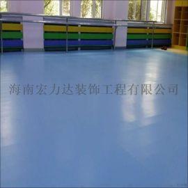 PVC地板,密實底PVC地板,海南宏利達專注地坪