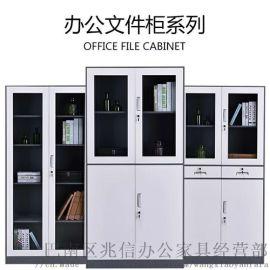 重庆办公文件柜储物铁柜铁皮柜子厂家直销011