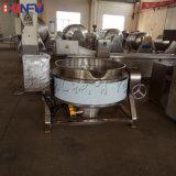 鑫富供應,可傾斜式蒸汽不帶攪拌夾層鍋,熬粥鍋