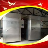 250型臘肉香腸煙燻上色機器100型隧道式煙燻機