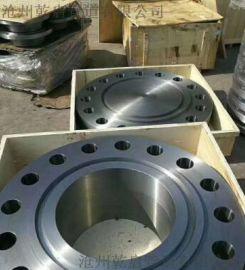 锻制法兰厂家 锻打带颈对焊法兰 规格DN15-DN3000 材质碳钢、不锈钢、合金钢 乾启高压锻制厂家