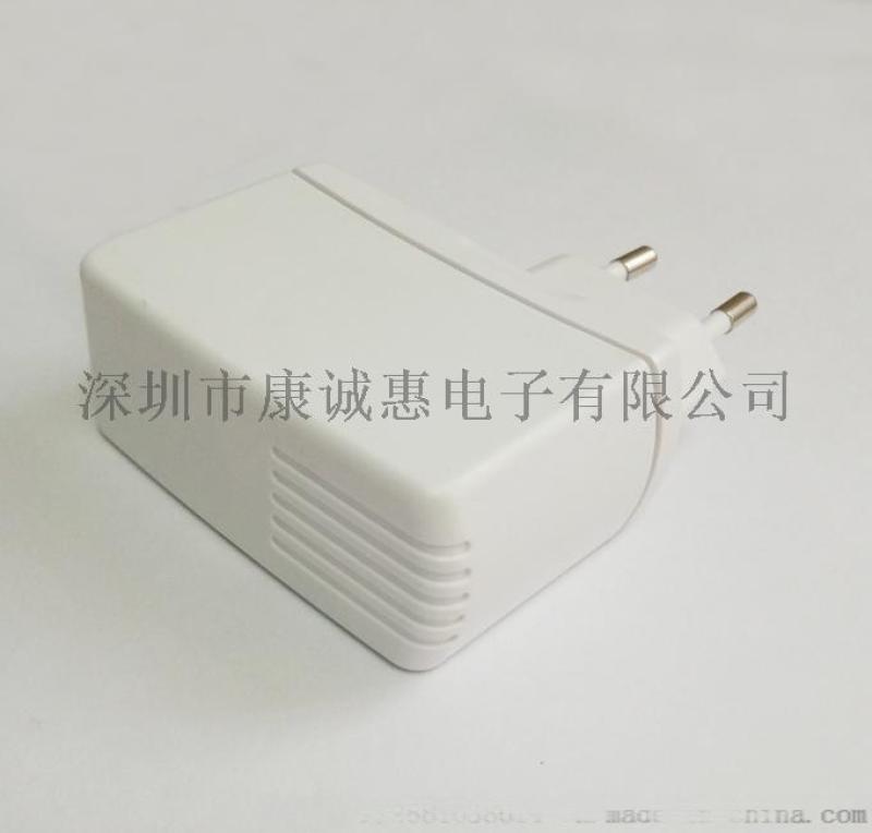 12V1.5A欧规电源适配器 DOE VI级能效 过UL认证 12V1.5A欧规充电器