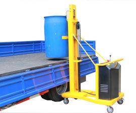 配重式半電動油桶堆高車DT280