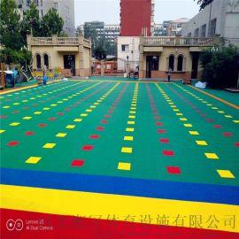宿州市幼儿园雪花米 悬浮地板厂家