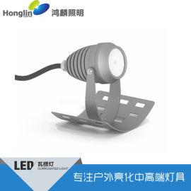 雙面LED瓦楞燈3W射燈+1.5W點光源