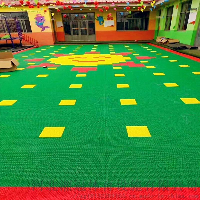 天水市彈性墊懸浮地板 甘肅拼裝地板廠家