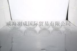 儒雅玻璃葵花碗