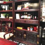 成都實木傢俱定製廠家,實木展示櫃、博古架定製