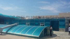 济宁中空阳光板车棚,曲阜阳光板厂家供应
