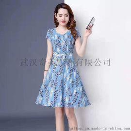 蒂赛尔娜上海金祥彩票app下载女装夏装库存尾货折扣市场