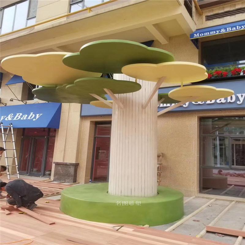 玻璃钢天壶雕塑 户外景观水壶茶壶雕塑造型