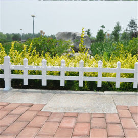 草坪pvc pvc草坪护栏 绿化围栏