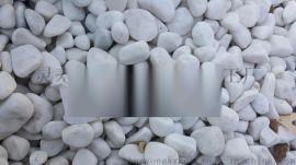 机制白色鹅卵石报价园林景观常用白色鹅卵石