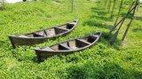 出售江西3米公園戶外裝飾船景觀木船兩頭尖歐式船