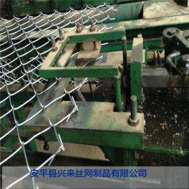 济南球场护栏 安平勾花网厂 铁丝网勾花网