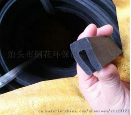 钢花除尘配件密封胶条,U型胶条生产厂家给力促销