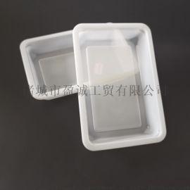 周黑鸭186127一次性锁鲜盒包装盒高透明可封口