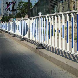 道路护栏尺寸 道路中央隔离护栏 市政护栏防护栏杆