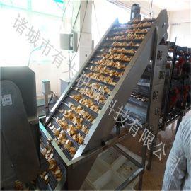 鱼豆腐油炸生产线 豆腐块油炸机 油豆腐油炸设备