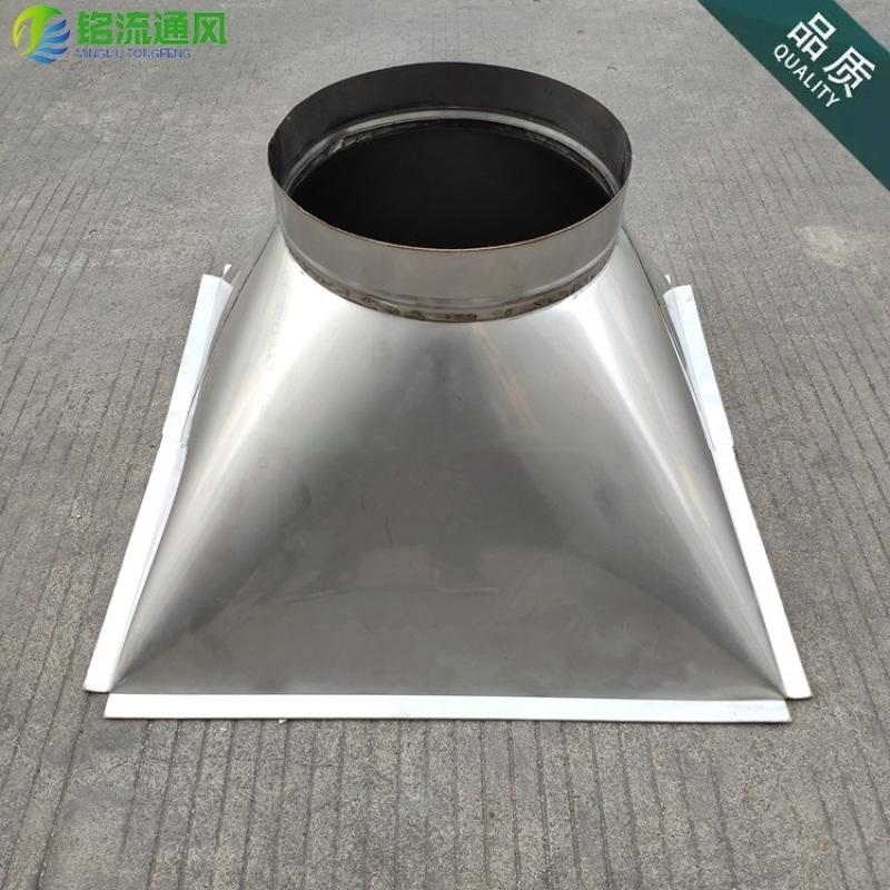 不锈钢天圆地方定制 方转圆变径管