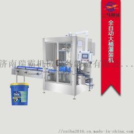 4-20L润滑油灌装机 桶装全自动液体灌装机济南