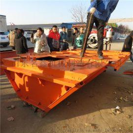 大型渠道成型机 现浇渠道衬砌机 自走式水渠成型机