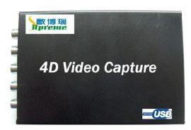 四路视频采集盒USB DVR