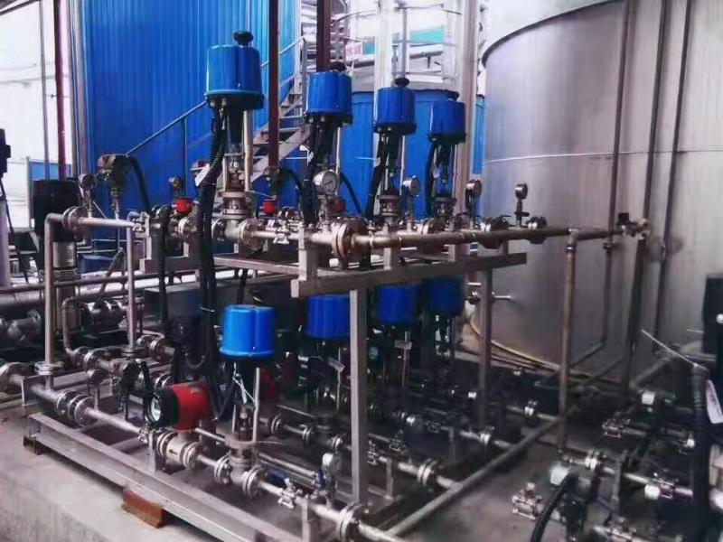 德国VATTEN 电动调节阀精小型防爆型电子电动调节阀 电动法兰调节阀 电动防爆调节阀