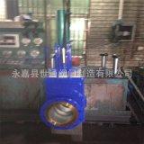 ZKF三片式组合矿浆阀  液压矿浆阀