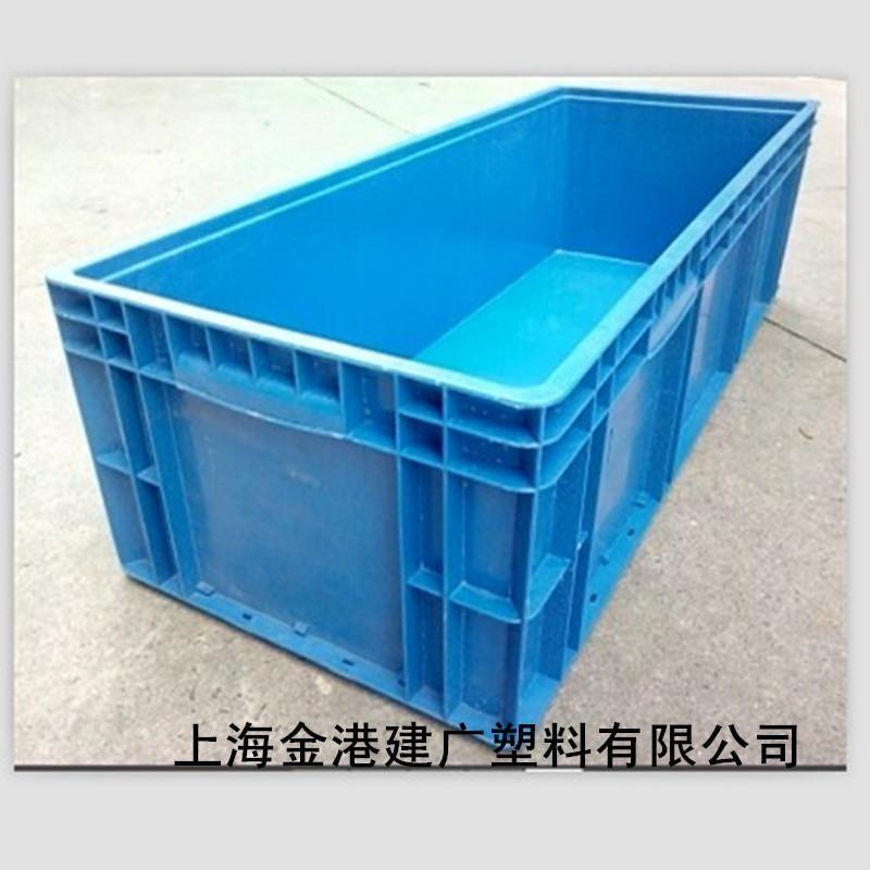 大量供应1000*400*280欧洲标准物流箱 塑料箱 可叠式塑胶箱