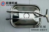 卫生级方形手孔 不锈钢方形手孔 快开方形手孔