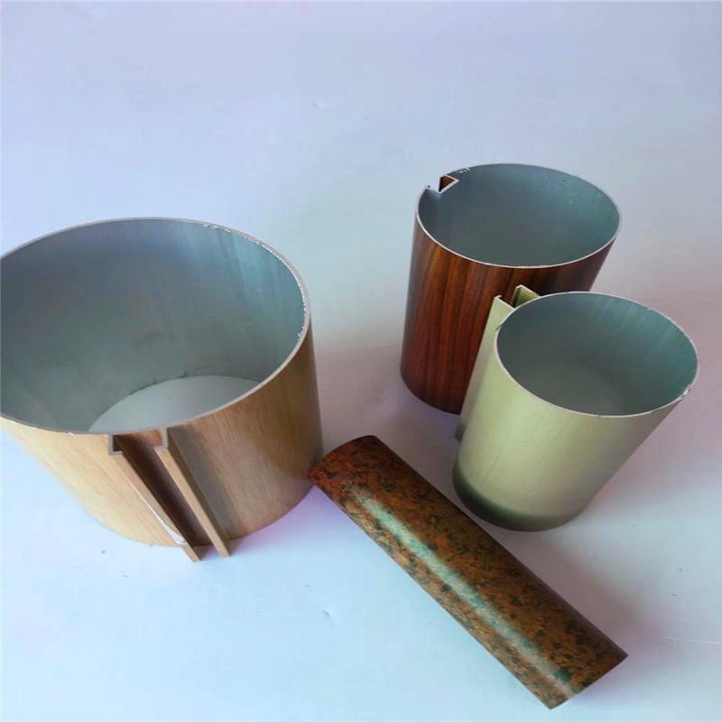 厂家直销惠州市场型材铝圆管天花办公室走廊通用铝圆通