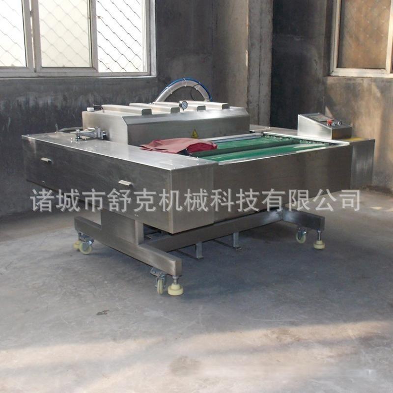 糯米藕连续真空包装机 杭州特色小吃糯米藕连续滚动式真空包装机