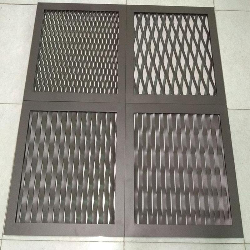 珠海幕牆鋁板網 陽極氧化鋁板網 吊頂鋁板網