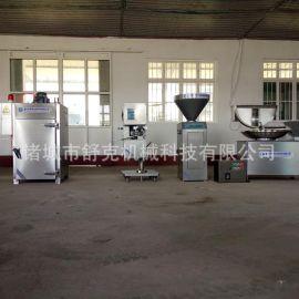诸城市舒克全自动腊肠灌肠机 CR-30单管液压灌装机