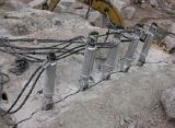 替代膨胀剂开采石材液压劈裂机