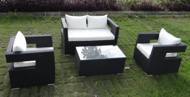 藤制沙发 ,仿藤家具, 编藤桌椅 户外家具(AC-RF0612)