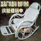 白色双枕头摇椅摇椅